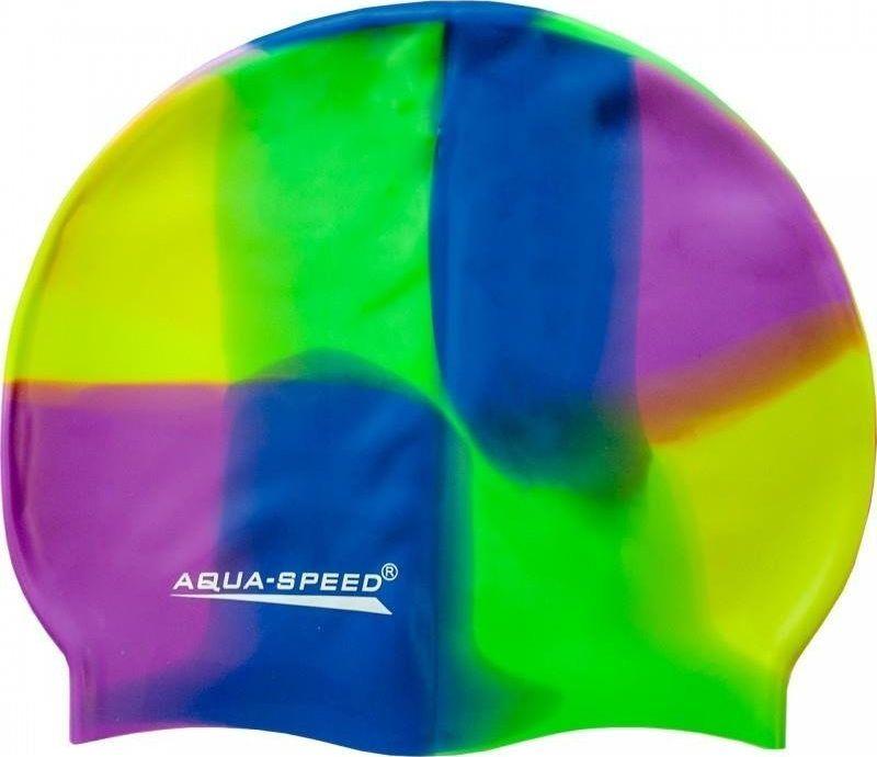 Aqua-Speed Czepek Aqua-speed Bunt tęczowy kol 73 uniwersalny 1