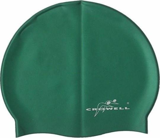 Crowell Czepek Crowell jednobarwny zielony SC704 uniwersalny 1
