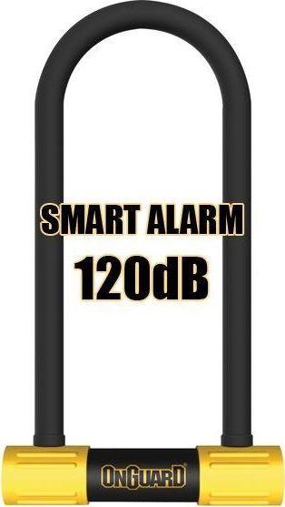 ONGUARD Zapięcie rowerowe ONGUARD Smart Alarm 8268 U-LOCK - 16mm 100mm 258mm - 5 x Klucze z kodem uniwersalny 1