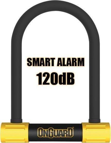 ONGUARD Zapięcie rowerowe ONGUARD Smart Alarm 8266 U-LOCK - 16mm 124mm 208mm - 5 x Klucze z kodem uniwersalny 1