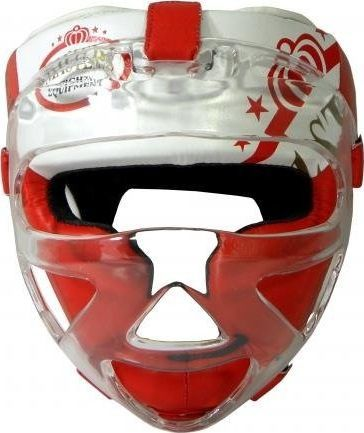 Masters Fight Equipment Kask bokserski MASTERS z maską KSS-M uniwersalny 1