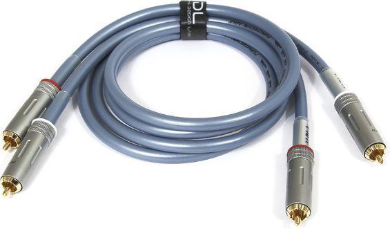 Kabel Furutech-ADL RCA (Cinch) x2 - RCA (Cinch) x2 1m niebieski 1