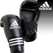 Adidas Rękawice otwarte ADIDAS SEMI CONTACT czarne S uniwersalny 1