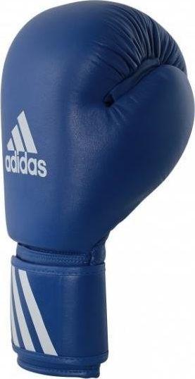 Adidas Rękawice bokserskie WAKO 10 oz niebieskie  1