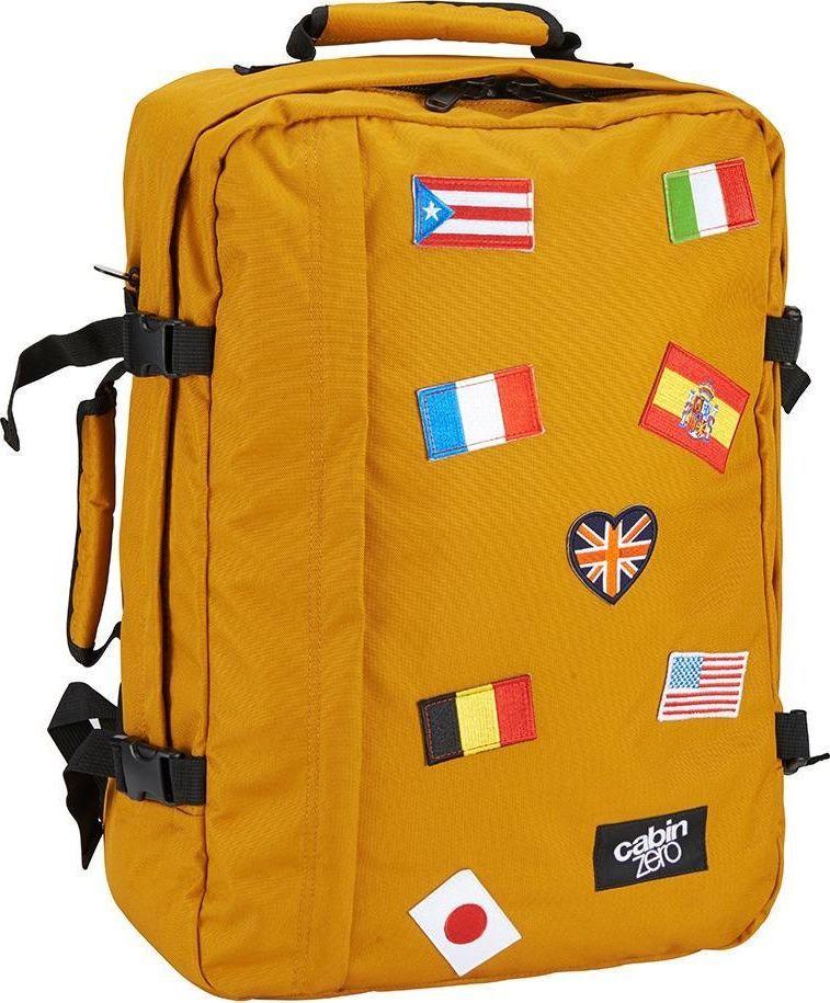 Cabinzero Plecak torba podręczna CabinZero Classic Flags uniwersalny 1