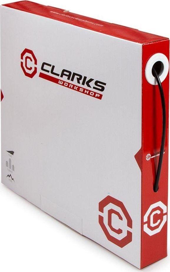 Clarks Przewód hamulca hydraulicznego CLARK'S SHIMANO 5mm/2,3mm czarny pudełko: 30metrów uniwersalny 1
