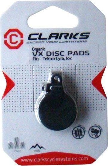Clarks Klocki hamulcowe CLARK'S TEKTRO (Lyra, IOX) organiczne pudełko 20 par uniwersalny 1