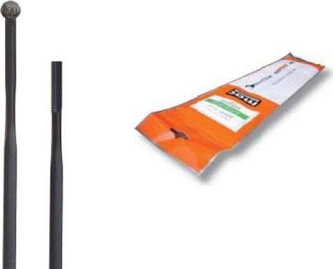Cn Spoke Szprychy CNSPOKE AERO424 2.0-0.9*2.2-2.0 stal nierdzewna 264mm czarne 36szt. uniwersalny 1