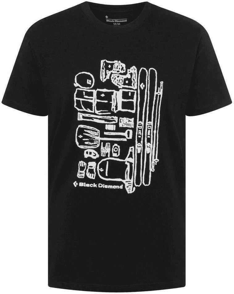 Black Diamond Koszulka męska M Ski Gear Tee Black r. L 1
