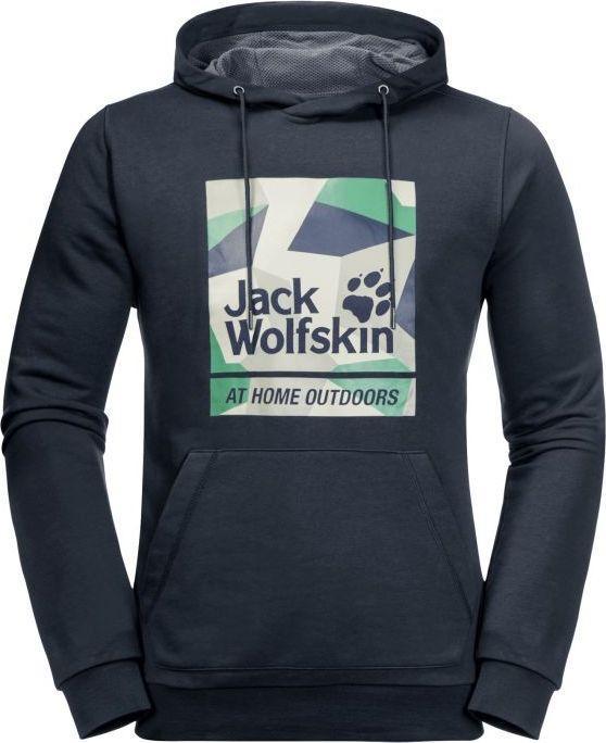 Jack Wolfskin Bluza męska 365 Hideaway Hoody M night blue r. L (1708192-1010) 1