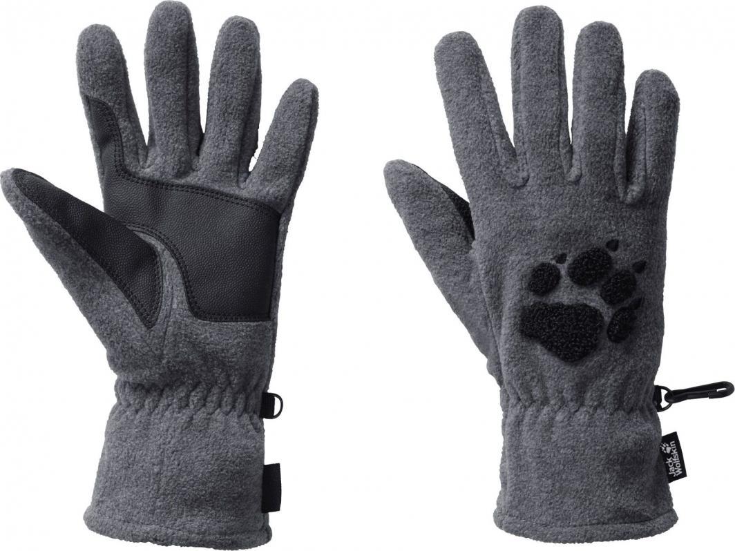 Jack Wolfskin Rękawice unisex Paw Gloves grey heather r. L (19615-6110) 1