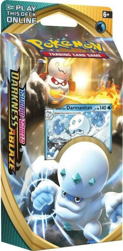 Pokemon Karty Darkness Ablaze Talia Darmanitan 1