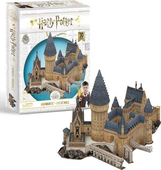 Cubicfun Puzzle 3D Harry Potter Wielka sala 1