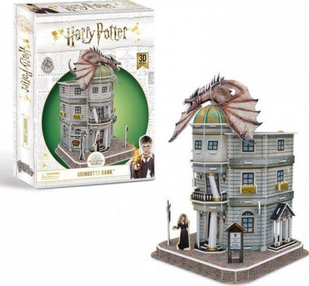 Cubicfun Puzzle 3D Harry Potter Bank Grinngotta 1