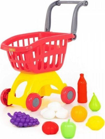 Wader Wózek do sklepu z zestawem zakupów 1