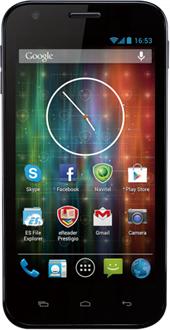 Smartfon Prestigio 4 GB Niebiesko-czarny  (Zestaw MultiPhone 5501 z Głośnikiem Bluetooth PBSP1) 1
