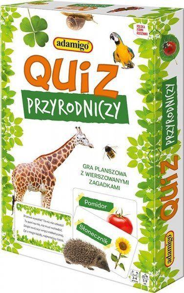 Adamigo Quiz przyrodniczy Gra edukacyjna 1