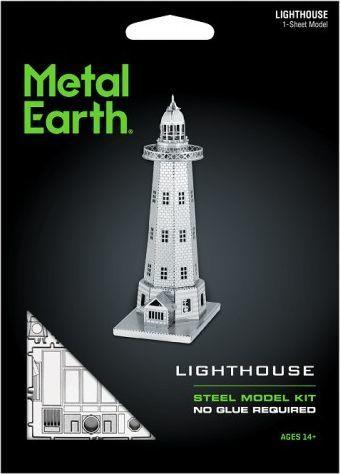 Metal Earth Metal Earth Lighthouse Latarnia morska model do składania metalowy. 1