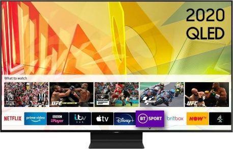 Telewizor Samsung QE55Q90TAT QLED 55'' 4K (Ultra HD) Tizen  1