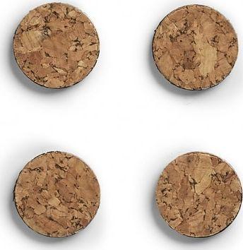 Zeller Zestaw magnesów Korek; 4- szt. 1