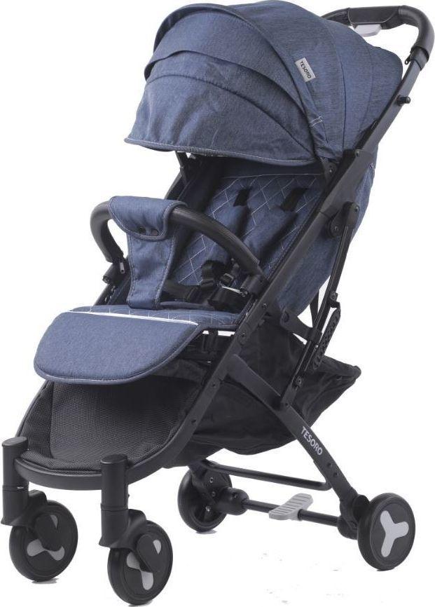 Wózek Tesoro spacerowy S600 Jeans 1