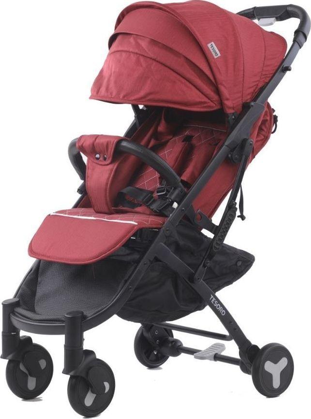 Wózek Tesoro spacerowy S600 Czerwony 1