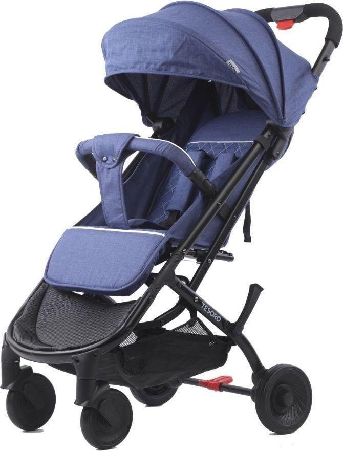 Wózek Tesoro spacerowy A9 Niebieski 1