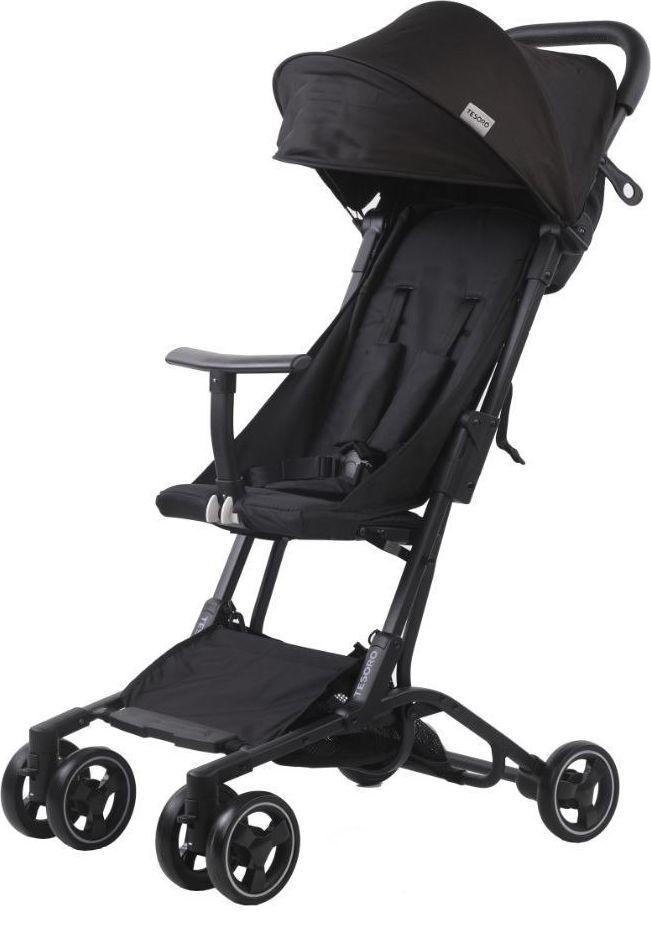 Wózek Tesoro spacerowy S900 Czarny 1