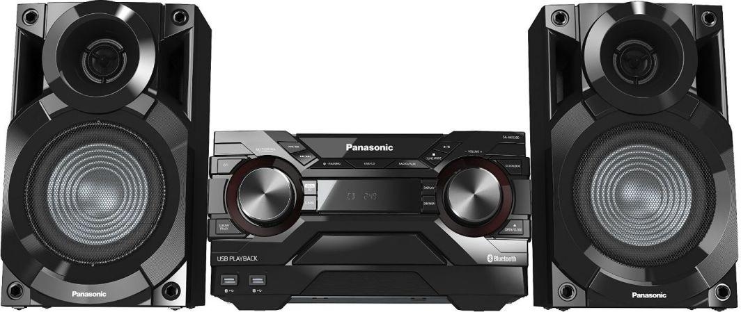 Wieża Panasonic SC-AKX200E-K 1