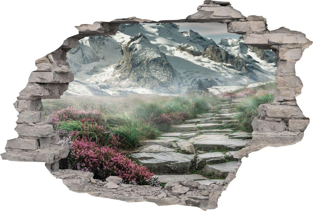 e-druk NAKLEJKI 3D FOTOTAPETA CEGŁA WIDOK 160 x 110 1
