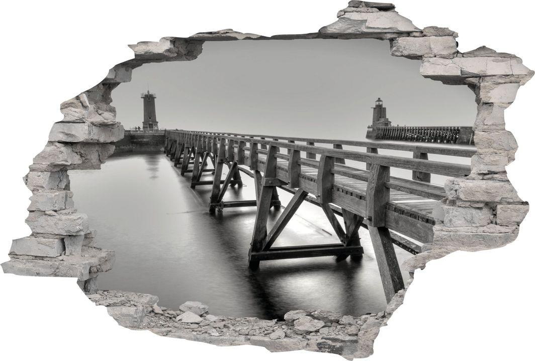 e-druk NAKLEJKI 3D FOTOTAPETA CEGŁA WIDOK 130 x 90 1