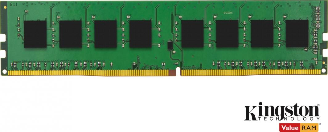 Pamięć Kingston ValueRAM, DDR4, 8 GB, 2666MHz, CL19 (KVR26N19S6/8) 1