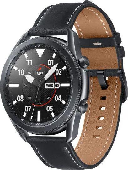 Smartwatch Samsung Galaxy Watch 3 Mystic Black 45mm Czarny  (SM-R840NZKAEUE) 1