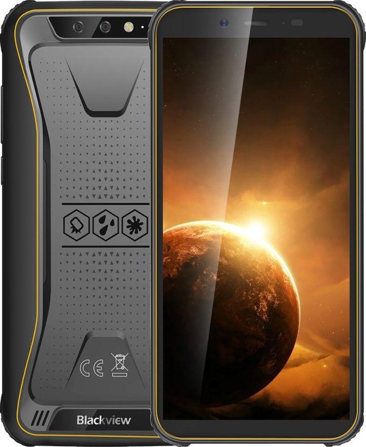 Smartfon Blackview BV5500 PLUS 32 GB Dual SIM Czarno-żółty  (GBV5500 Plus Yellow) 1