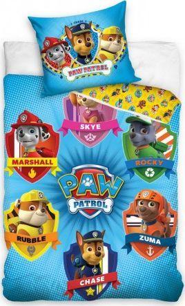 Carbotex Pościel 100x135 łóżeczkowa Psi Patrol chłopięca 1