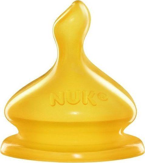 NUK NUK Smoczek na butelkę lateks FC 2S 1 szt. 1
