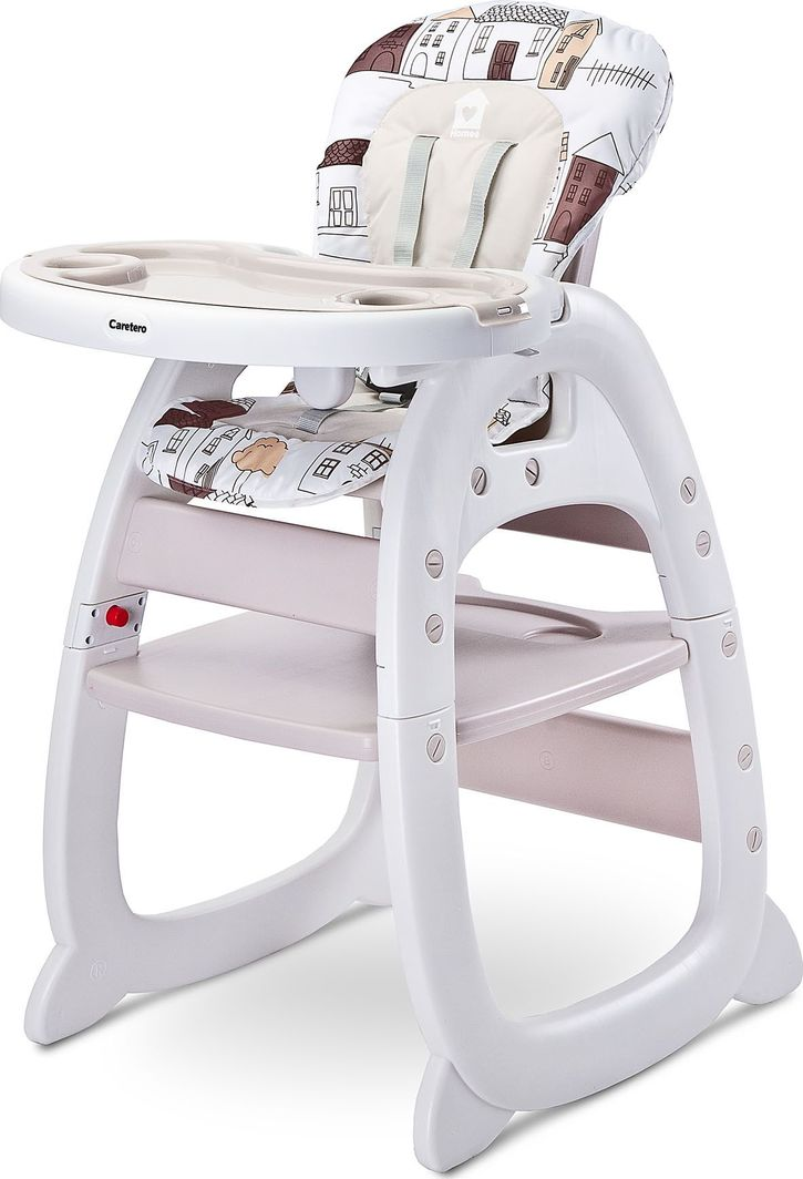 Caretero Krzesełko do karmienia 2 w 1 Caretero Homee beige 1