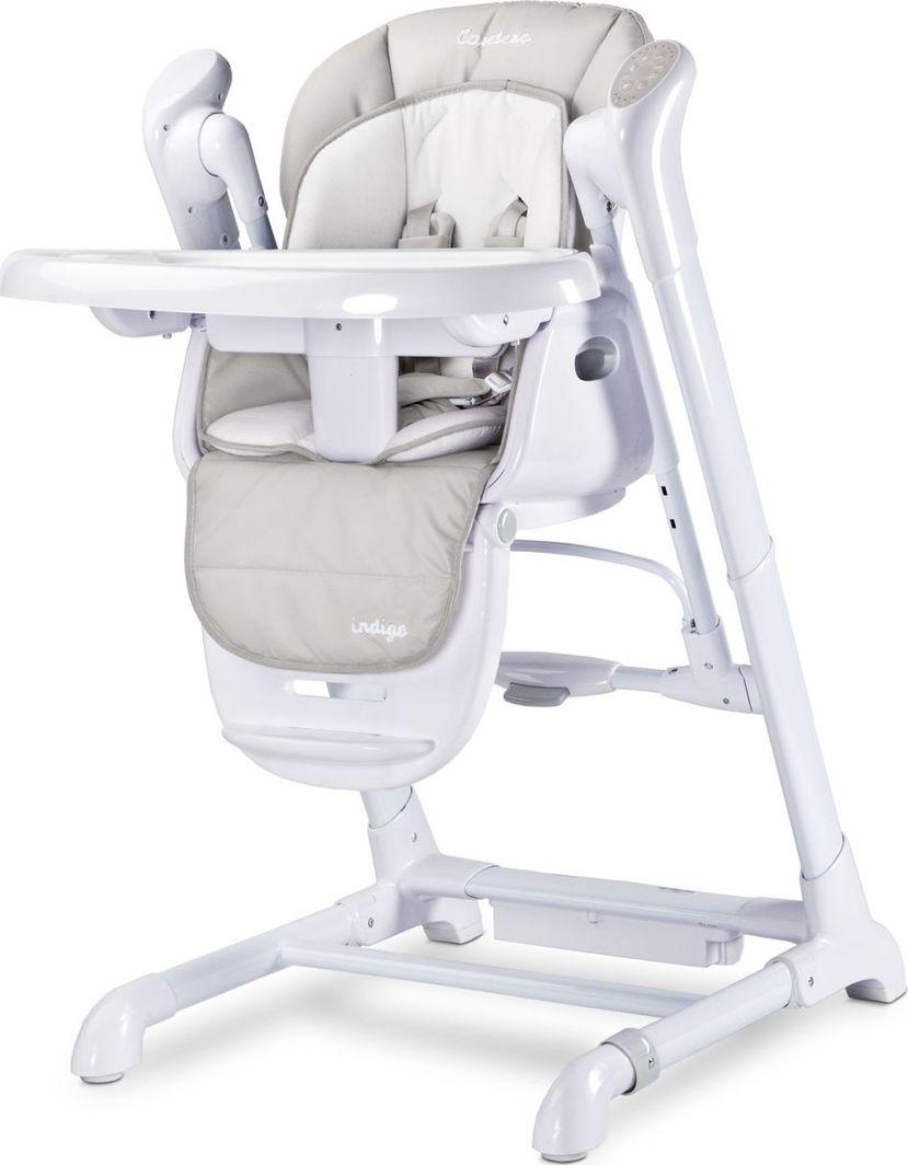 Caretero Krzesełko huśtawka 2w1 Indigo light grey 1
