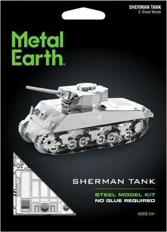 Metal Earth Metal Earth Czołg Sherman model do składania metalowy. 1