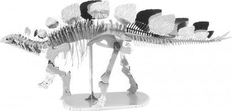 Metal Earth Metal Earth Dinozaur Stegozaur Stegosaurus Szkielet model do składania metalowy. 1