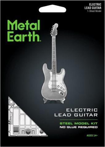 Metal Earth Metal Earth Electric Lead Guitar Gitara Elektryczna model do składania metalowy. 1