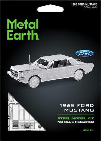 Metal Earth Metal Earth Ford Mustang 1965 model do składania metalowy. 1