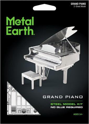 Metal Earth Metal Earth Fortepian Grand Piano model do składania metalowy. 1