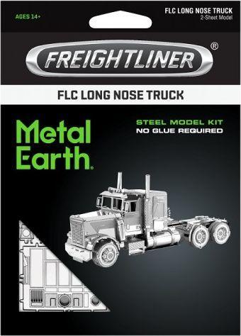 Metal Earth Metal Earth Freightliner FLC Long Nose Truck Metalowy model do składania 1