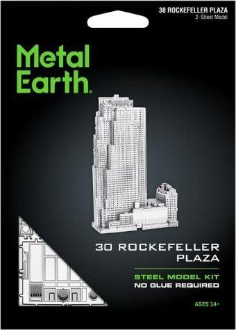 Metal Earth Metal Earth Rockefeller Plaza model do składania metalowy. 1