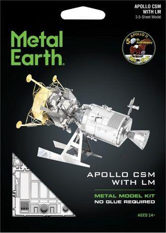 Metal Earth Metal Earth, Apollo CSM Moduł Dowodzenia plus Moduł Księżycowy 1