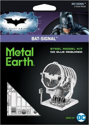 Metal Earth Metal Earth, Batman Sygnalizator Bat-Signal model do składania metalowy. 1