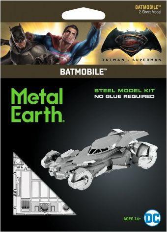 Metal Earth Metal Earth, Batman v Superman Batmobile Metalowy Model Do Składania 1