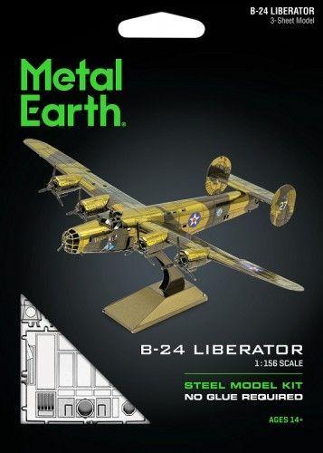 Metal Earth Metal Earth, Bombowiec B-24 Liberator Metalowy Model Do Składania 1