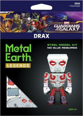 Metal Earth Metal Earth, Drax Strażnicy Galaktyki Metalowy model do składania. 1